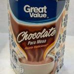 Chocolate para mesa