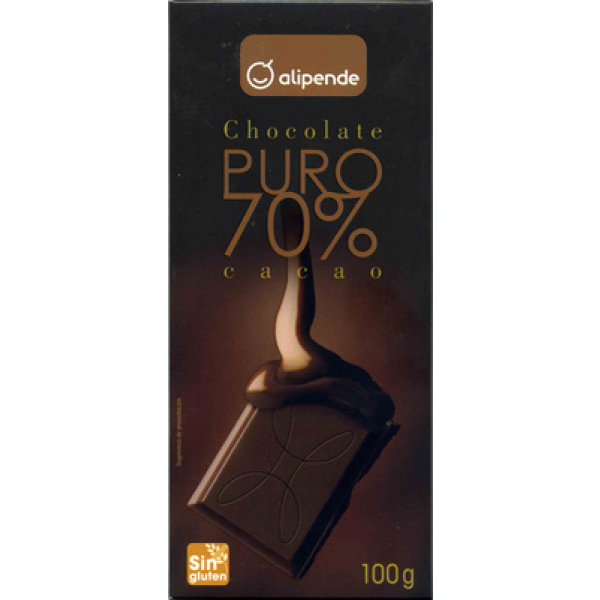 Chocolate puro 70% cacao