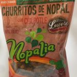Churritos hechos con nopal fresco