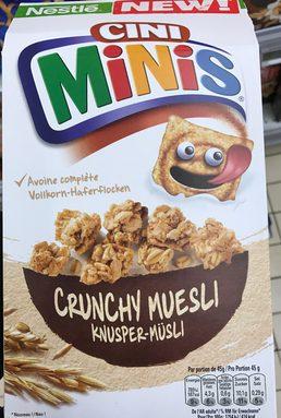 Cini Minis Crunchy Muesli