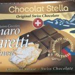 Cioccolato amaro con amaretti