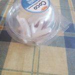 Coco troceado tarrina