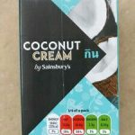Coconut Cream by Sainsbury's
