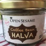 Coffee bean halva