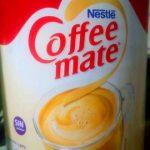 Coffee mate. Coffee mate.