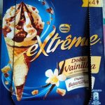 Cono de helado doble vainilla