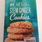 Cookies Stem Ginger