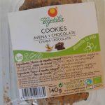 Cookies avena y chocolate