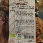 Cookies de trigo espelta con frutos rojos