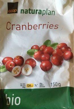 Coop Naturaplan Cranberries Bio