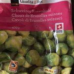 Coop Qualité & Prix Choux de Bruxelles Suisse