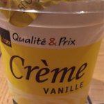 Coop Qualité & Prix Crème vanille