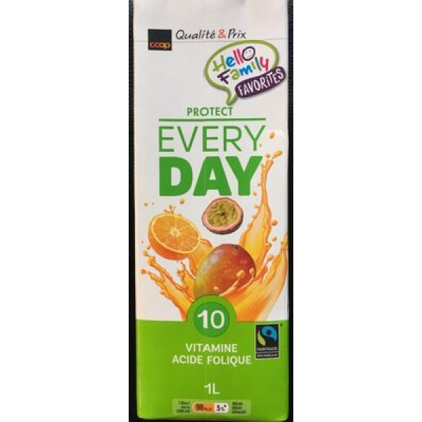 Coop Qualité & Prix Protect Every Day 10 Vitamine Folsäure