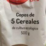 Copos de 5 cereales de cultivo ecológico