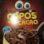 Copos de cacao
