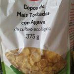 Copos de maíz tostado con Agave