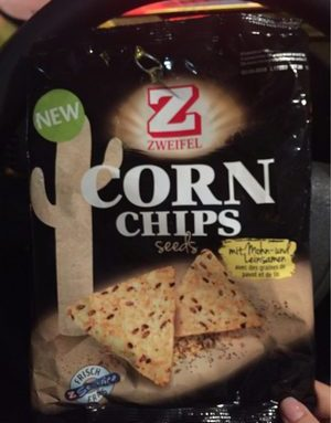 Corn chips seeds