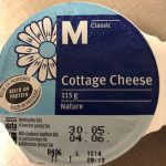 Cottage cheese nature