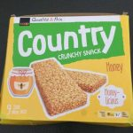 Country crunchy snack honey