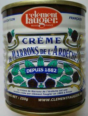 Crème de marron de l'Ardèche