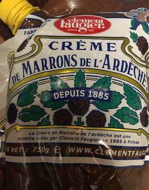 Crème de marron gourde