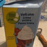 Crème entière sans lactose