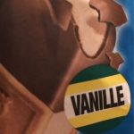 Crème glacée à la vanille en sandwich