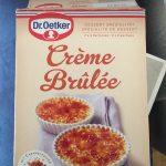 Créme Brûlèe