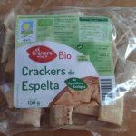 Crackers de trigo espelta