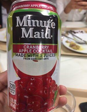 Cranberry Apple cocktail