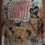 Cranberry Coconut Cookies