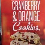 Cranberry & Orange Cookies
