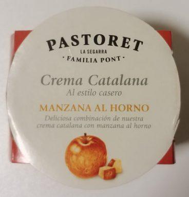 Crema Catalana al estilo casero con Manzana al Horno