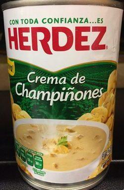 Crema de Champiñones Herdez