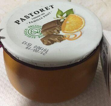 Crema de chocolate Naranja con su piel