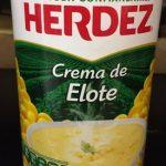 Crema de elote Herdez