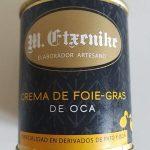Crema de foie-gras de oca