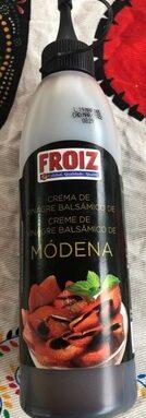 Crema de vinagre balsámico de Modena