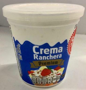 Crema ranchera premium
