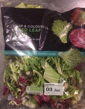 Crips & Colourful Mixed Leaf Salad