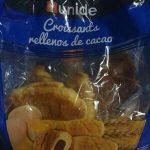 Croissants rellenos de cacao