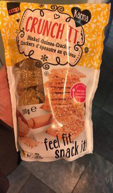 Crunch it Crackers d'épeautre au quinoa