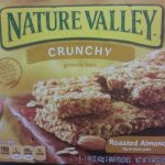 Crunchy Granola Bars Crunchy Roasted Almond