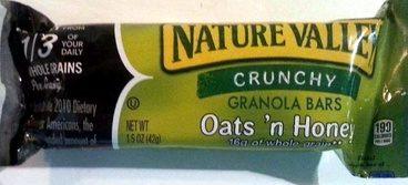 Crunchy Granola Bars Oats 'n Honey