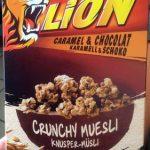 Crunchy muesli Lion