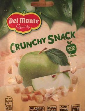 Crunchy snack appel