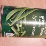 Cut French green beans