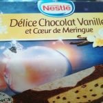 Délice chocolat vanille meringue