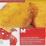 Délices à la tomate-mozzarella