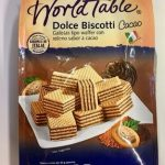 DOLCE BISCOTTI  WORLD TABLE